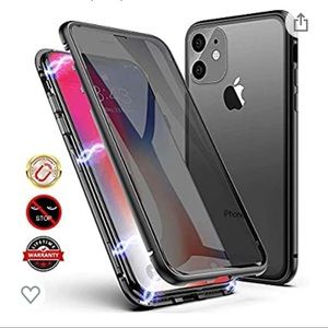 Anti-peep Magnetic Case for iPhone Xs Max,